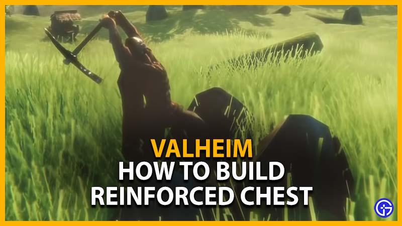 Valheim Reinforced Chest