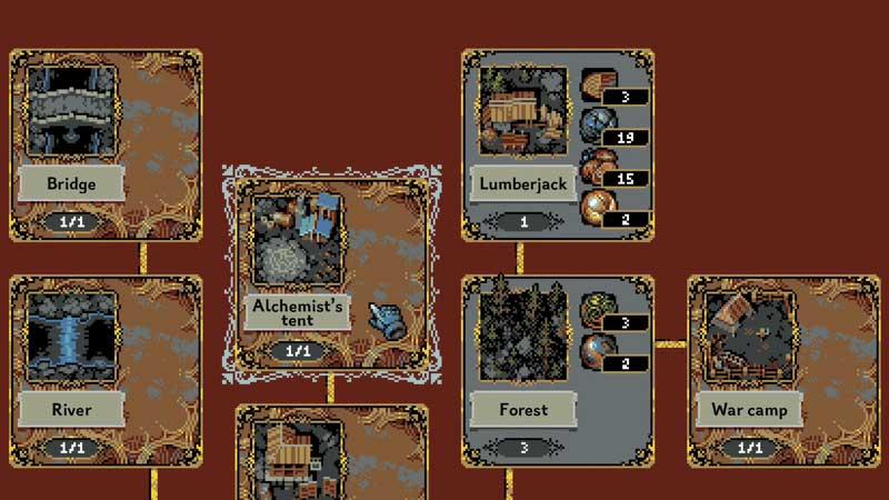 Unlock the alchemists tent in Loop Hero