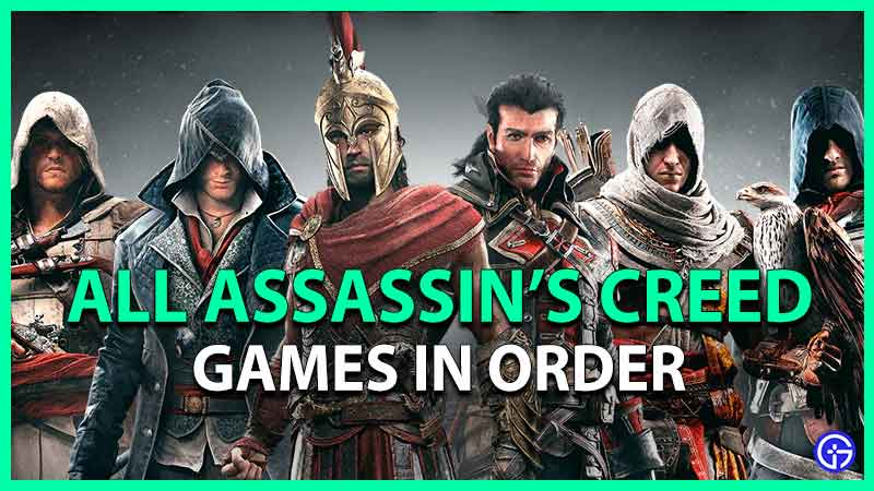 all assassins creed games in order