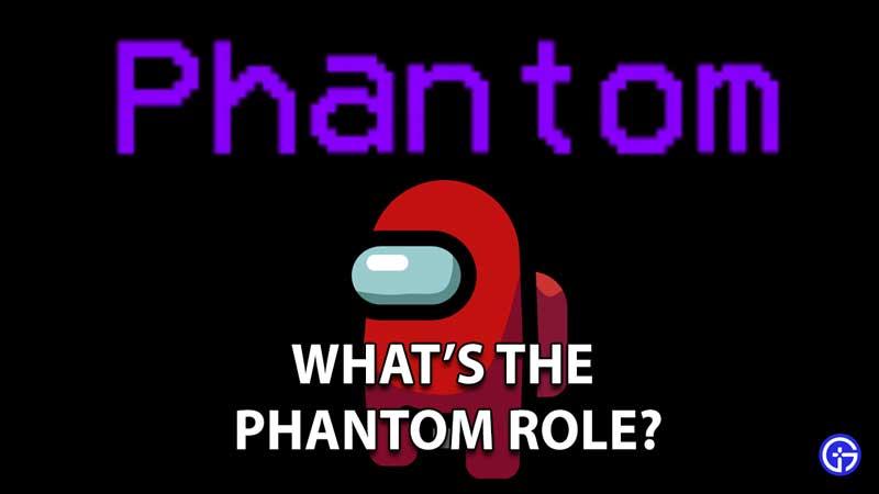 Among Us Phantom Role