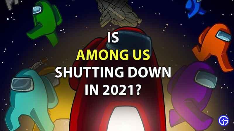 among us servers shutting down