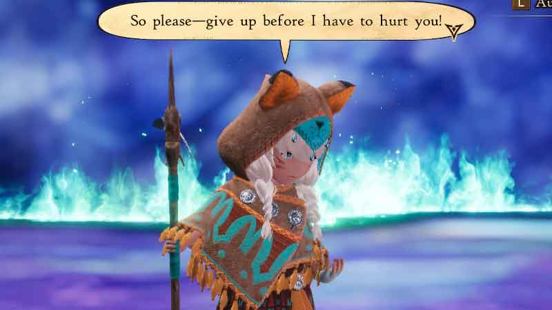 how to beat anihal in bravely default 2