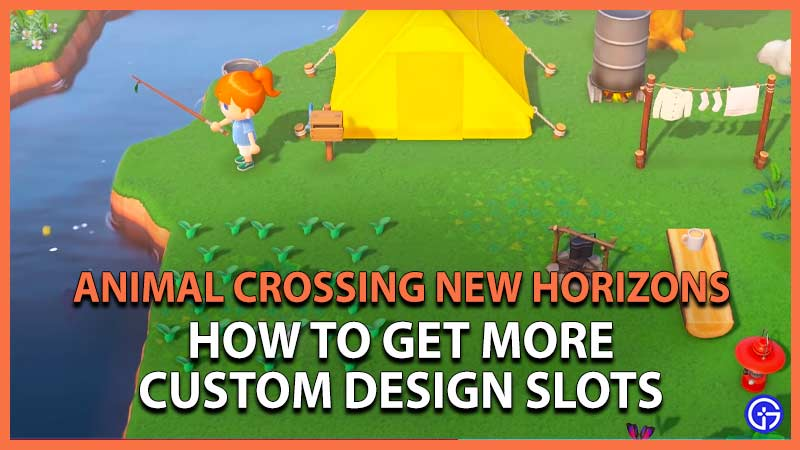 animal crossing new horizons how to get more custom design slots