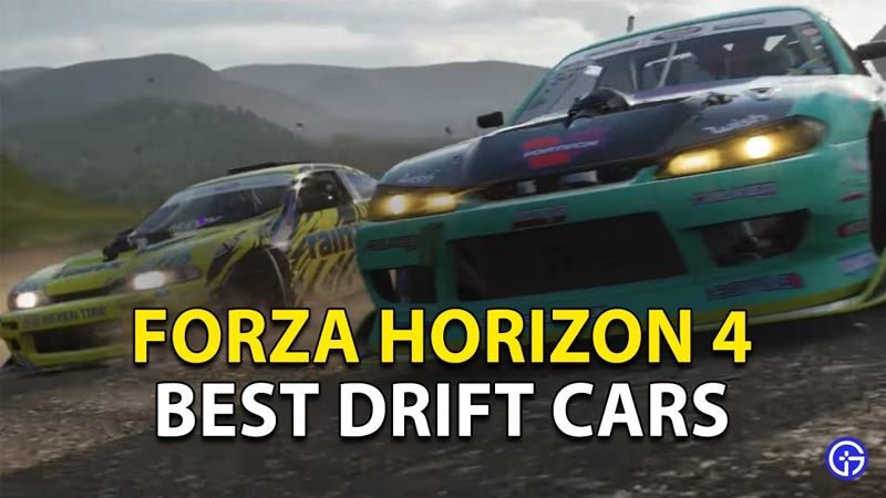 Best Drift cars in Forza Horizon 4