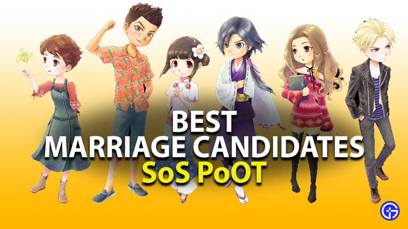 best marriage candidate in story of seasons pioneers of olive town