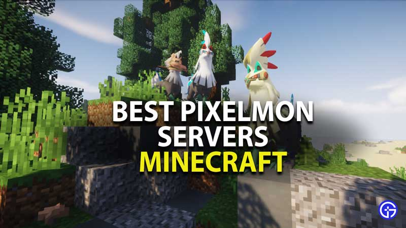 best pixelmon servers for minecraft