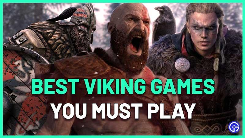 best norse mythology viking video games list