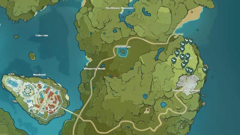 where to find Cecilia in Genshin Impact