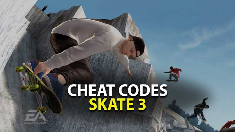 Skate 3 Cheat Codes Guide