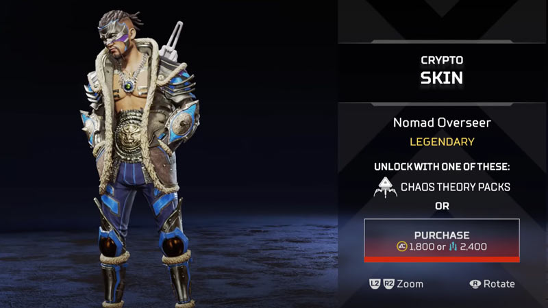 Chaos Theory Event Skins Apex Legends