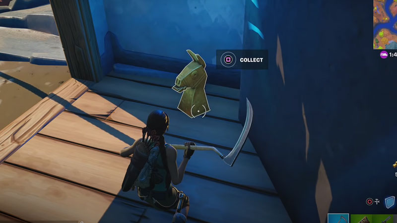 Where To Find Golden Artifacts Near The Spire In Fortnite Chapter 2 Season 6 Week 1