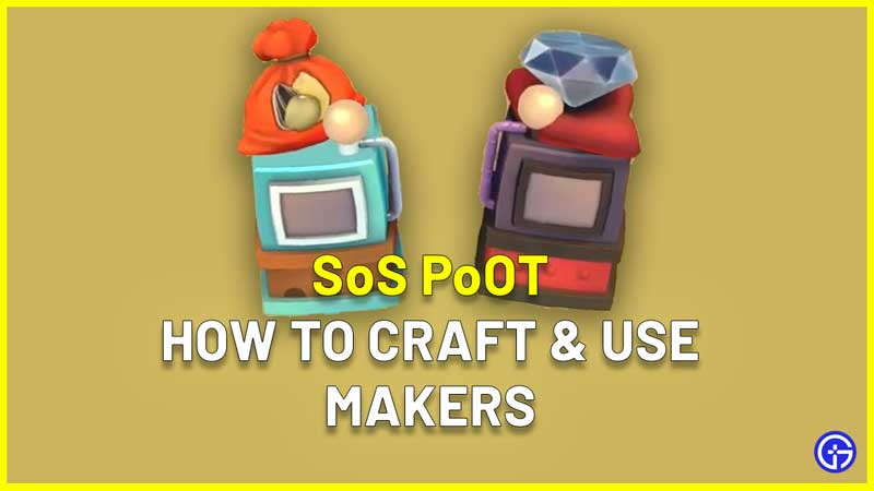 how to craft use Makers in Story Of Seasons Pioneers Of Olive Town