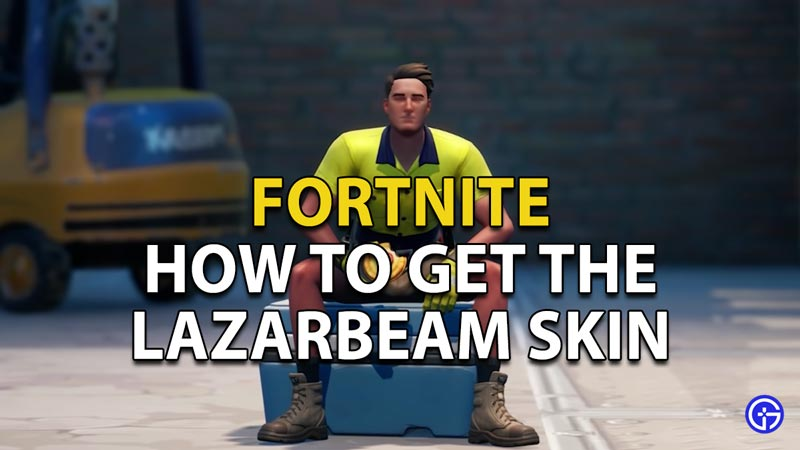 How to get the Lazarbeam Skin in Fortnite