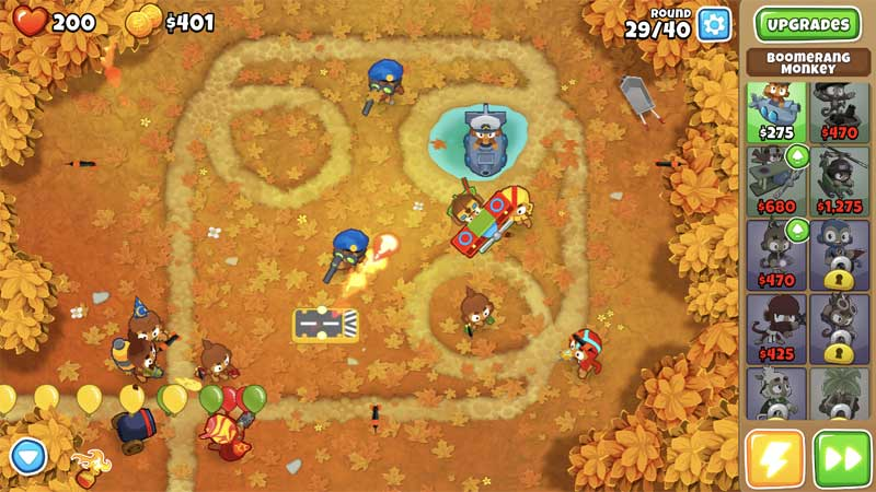 how to get trophies in bloons tower defense 6