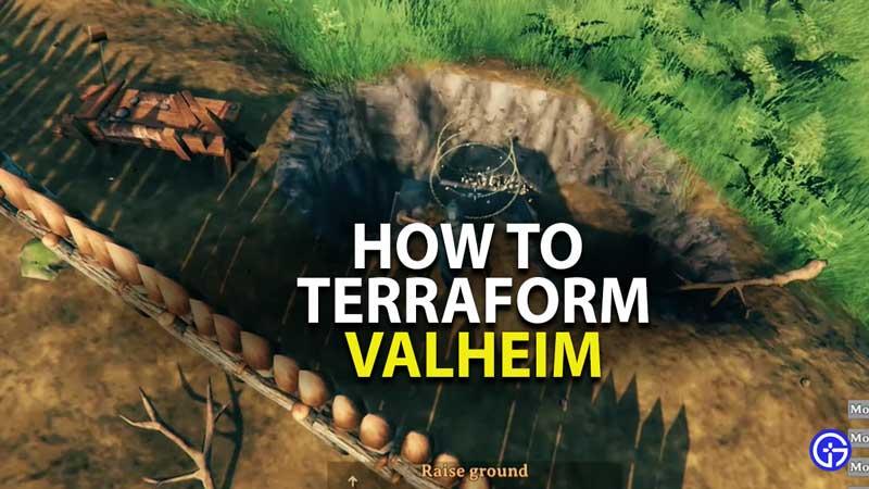 how to terraform in valheim