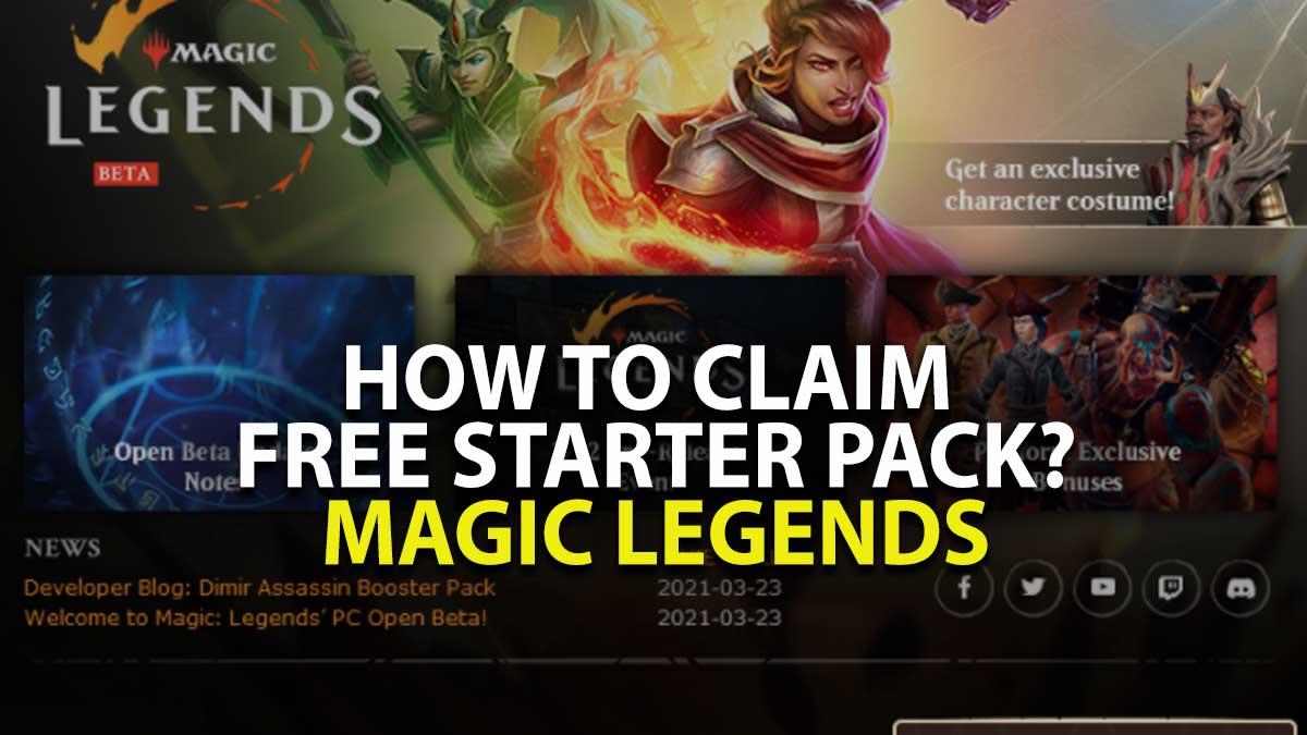 Magic Legends Starter Pack