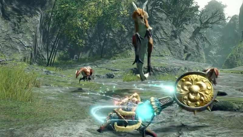 Monster Hunter Rise Melee attack tutorial