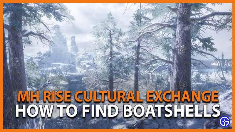 mh rise cultural exchange boatshells