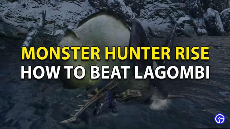 How to beat Lagombi in Monster Hunter Rise