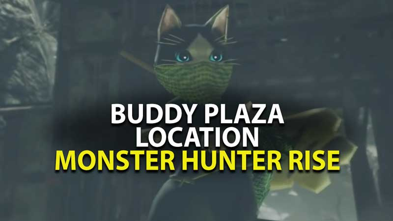 Monster Hunter Rise Buddy Plaza Walkthrough