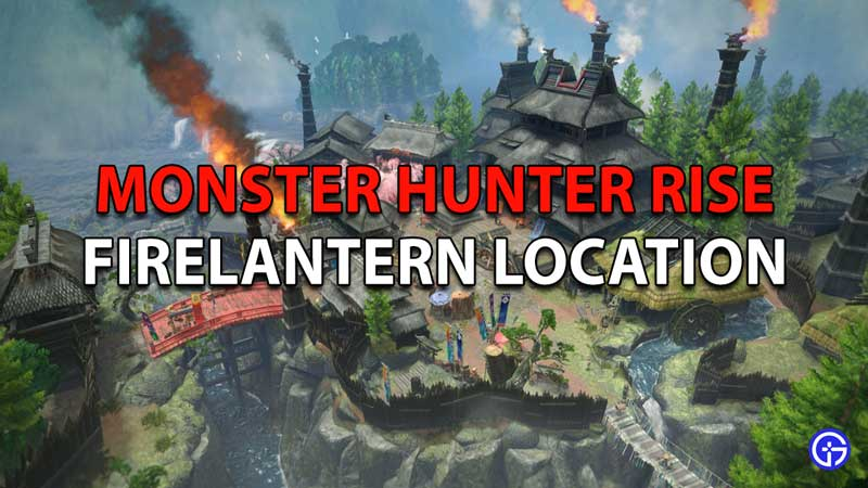 Monster Hunter Rise Roly-Poly Lantern