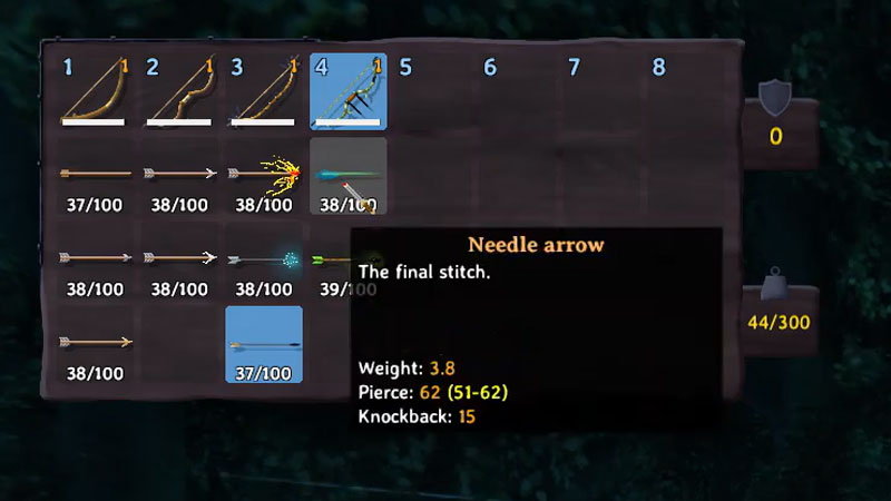 Where to get Needle Arrows in Valheim