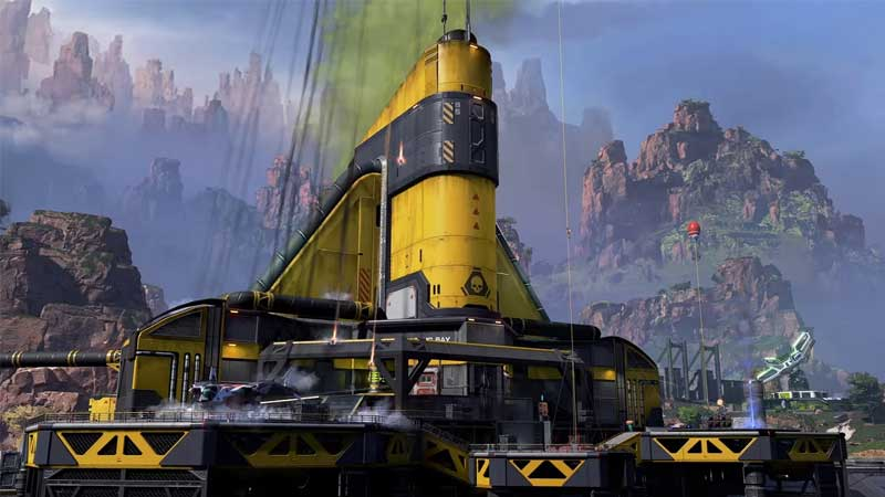 how to open caustic's treatment room in apex legends