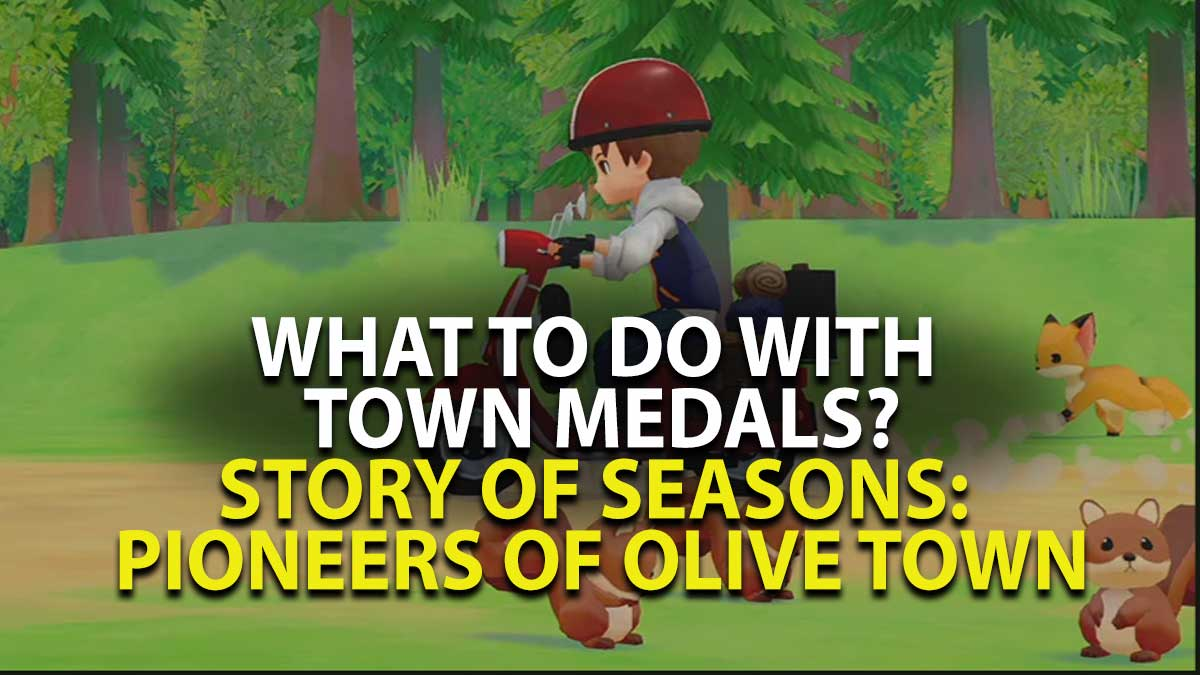 Pioneers of Olive Town - Medals