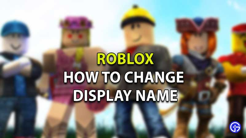 roblox: how to set and change display name