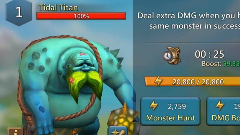 Lords mobile tidal titan hero lineup
