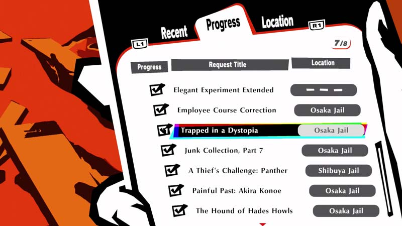 Trapped in Dystopia side quest in Persona 5 Strikers