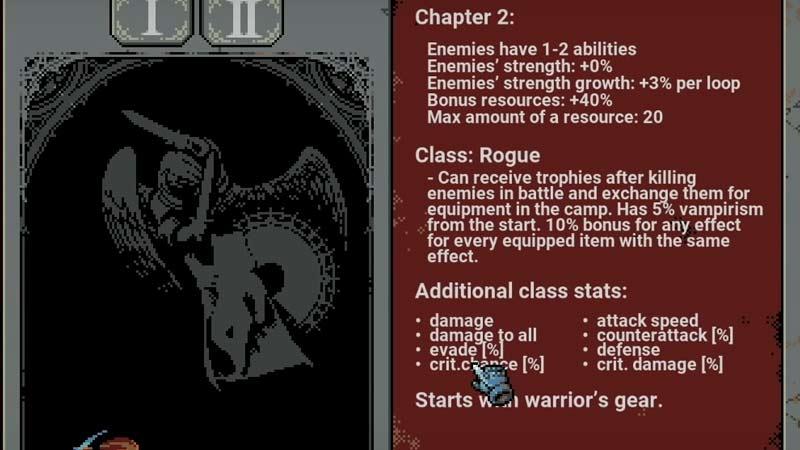 Unlock Rogue Class in Loop Hero