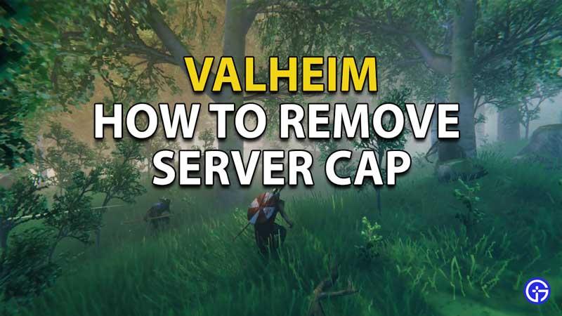 How to Remove Server Cap in Valheim