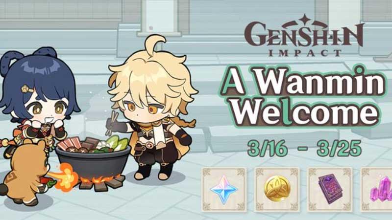 Wanmin Welcome Genshin Impact Guide