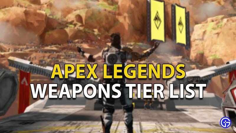 This is the Complete Weapons Tier List for Apex Legends Season 8