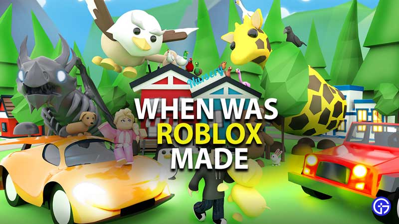 when was roblox made