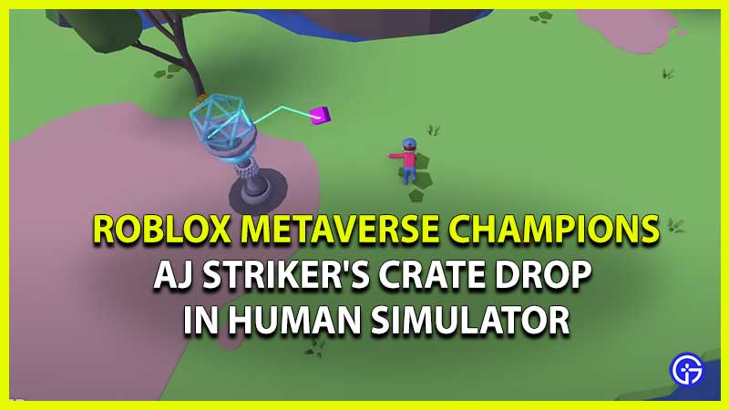 How To Get AJ Striker's Crate Drop in Human Simulator