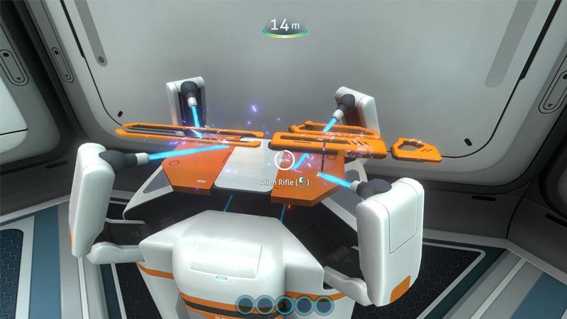 Subnautica Alien Rifle Mod