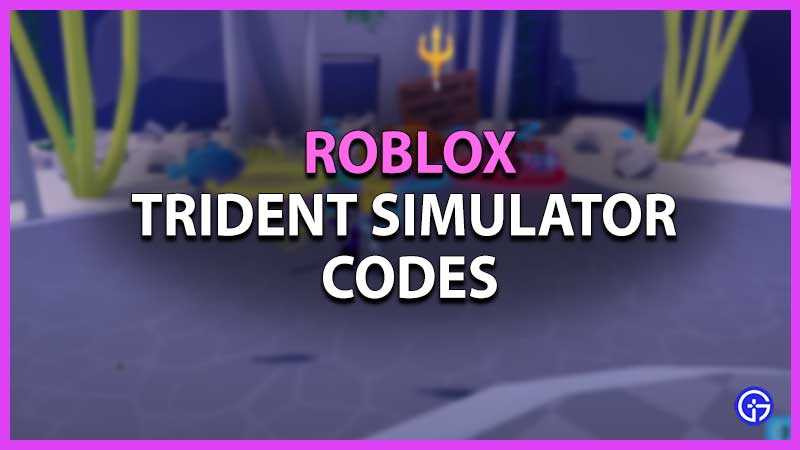 All Roblox Trident Simulator Codes List