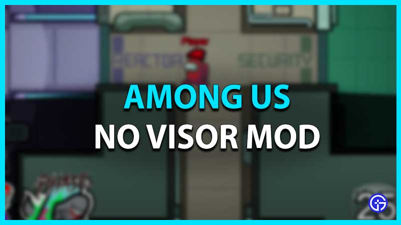 Among Us No Visor Mod
