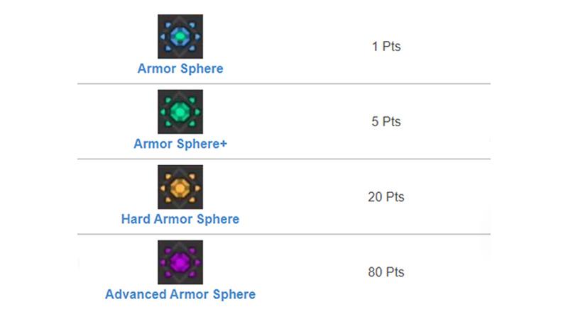 Armor Sphere MHR