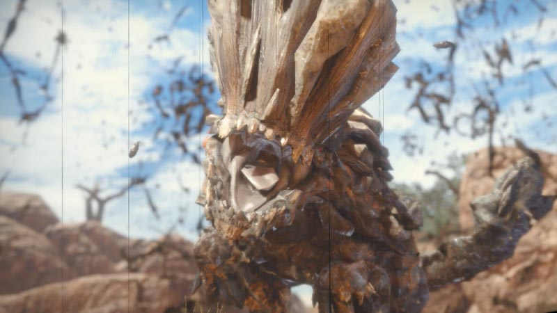 Barroth in MHR