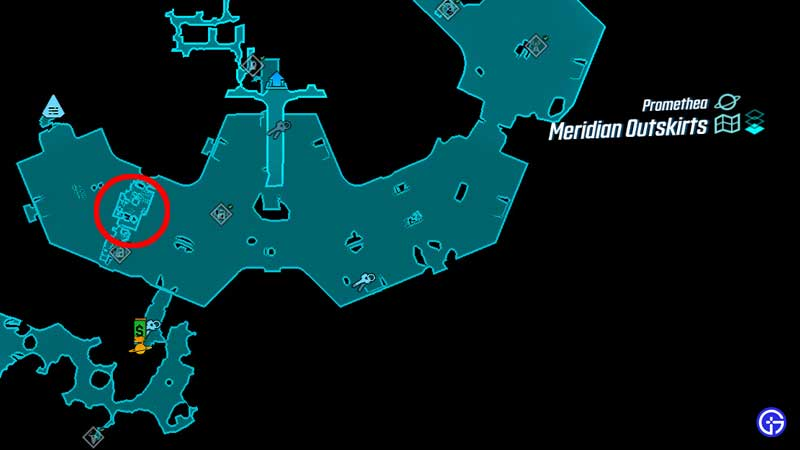 Borderlands 3 Borman Nates Map Location