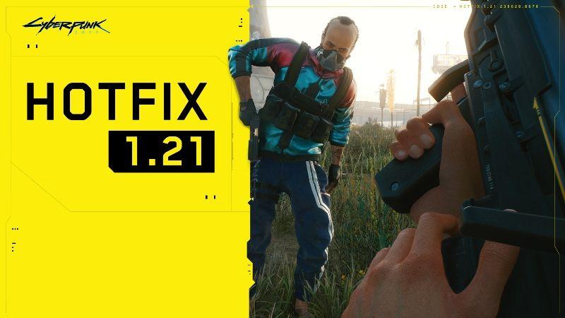 Cyberpunk 2077 Update 1.21 Download