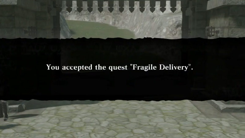 Fragile Delivery Quest