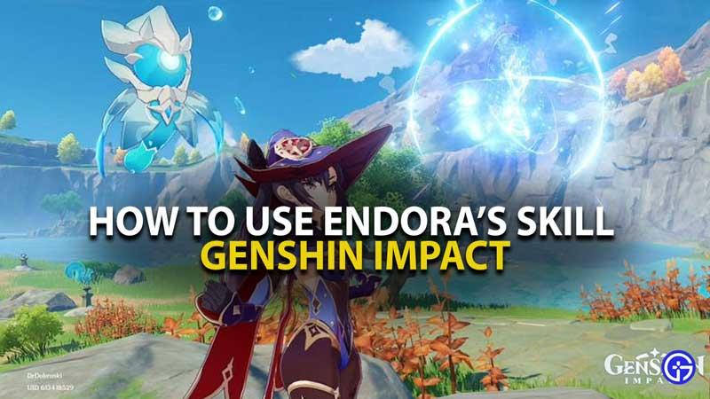 Genshin Impact Endora Skill Creatures