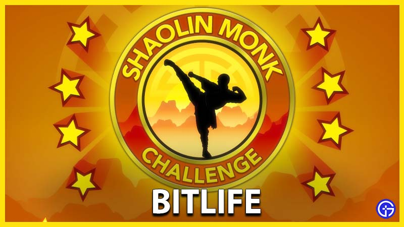 How To Complete Shaolin Monk Challenge In Bitlife