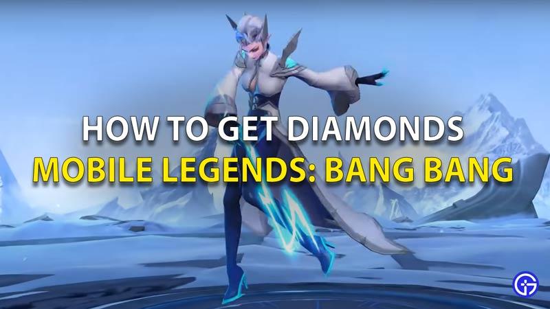 How to Get Diamonds Mobile Legends Bang Bang