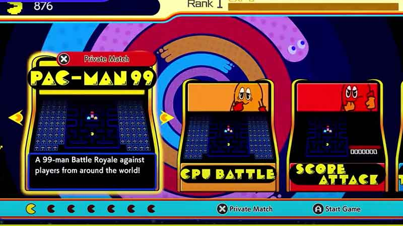 How to Join a Private Match in Pac Man 99