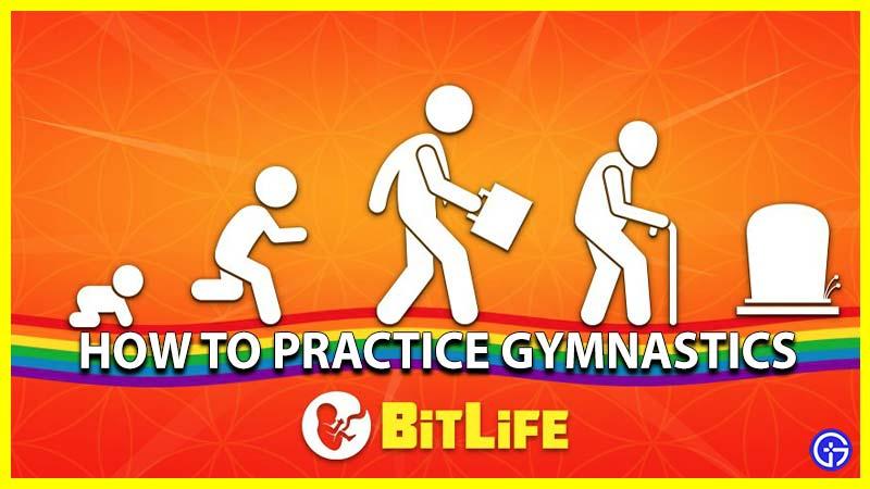 How to practice gymnastics in BitLife